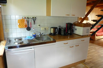 Ferienhaus Templin am See offene Küche