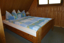 Ferienhaus Templin am See Schlafzimmer