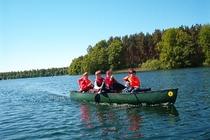 Carwitzer See Kanu