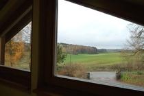 Ferienhaus Boitzenburger Land Thomsdorf Sommerland Fensterblick
