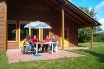 Ferienhaus Boitzenburger Land Thomsdorf Sommerland Rollstuhlfahrer