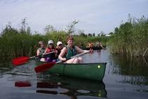 Carwitzer See Kanu Ausflug