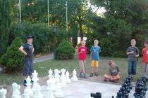 Ferienhaus Boitzenburger Land Thomsdorf Sommerland Schachspiel