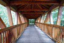 Fürstenberg Havel Baalensee Schwedtsee Holzbrücke