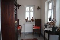 Ferienhaus Elbe Wootz Veranda