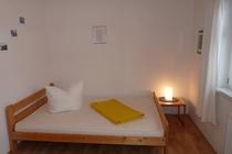 Ferienhaus Elbe Wootz Schlafzimmer 2