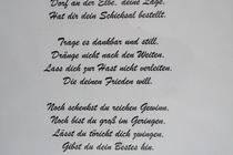 Ferienhaus Elbe Wootz Gedicht
