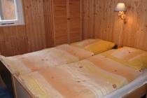 Ferienhaus Stechlin Schlafzimmer