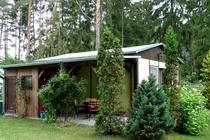 Ferienhaus Stechlin Terrasse
