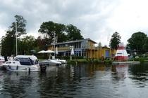 Fürstenberg Havel Hafen Gaststätte