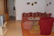 Ferienwohnung Stechlin Wohnzimmer