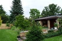 Ferienwohnung Stechlin Garten