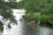 Fürstenberg Havel Baalensee Kanu