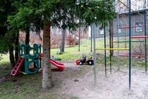 Ferienwohnung Stechlin Dagow Spielplatz
