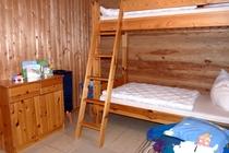 Ferienhaus Prignitz Groß Pankow Schlafzimmer Kinder